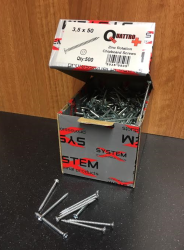 3.5 x 30 Chipboard Screws