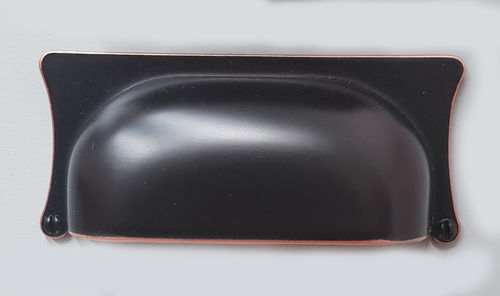 Black Copper Hooded Handle 90x40x32mm